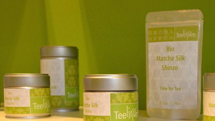 """Die Matcha-Marke """"Teelirium"""" ist eine Eigenkreation von Matchashop-Besitzer Florian Rosch."""