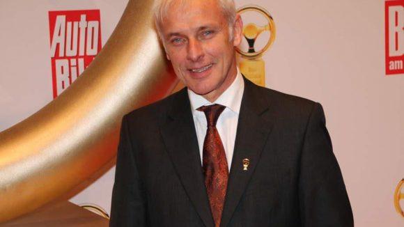 Matthias Müller, Vorsitzender des Vorstandes Porsche AG, war da.