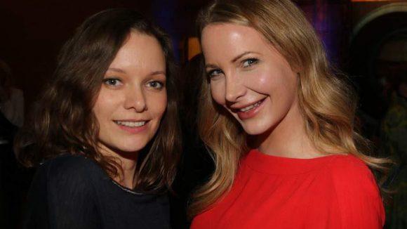 Alexandra Kalweit (links) und Maren Scheel sind ebenfalls aus Film und Fernsehen bekannt.