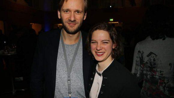 """Matthias Lier war im Film """"Homesick"""" in der Berlinale-Rubrik Perspektive Deutsches Kino zu sehen. Anjorka Strechel hat sich vor allem als Theaterschauspielerin einen Namen gemacht."""