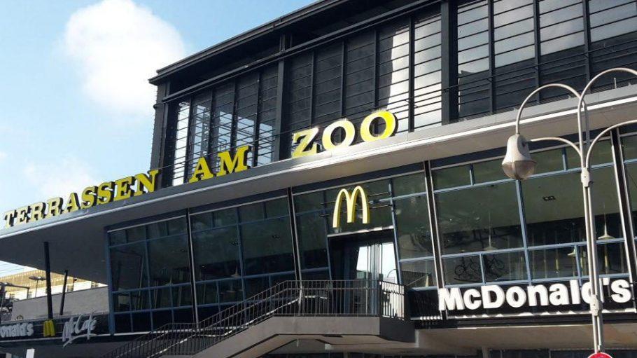 Die neue McDonald´s-Filiale auf den Terrassen am Zoo.