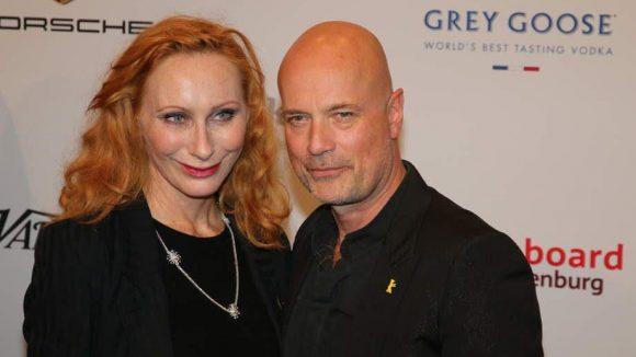 Andrea Sawatzki mit Ehemann Christian Berkel.