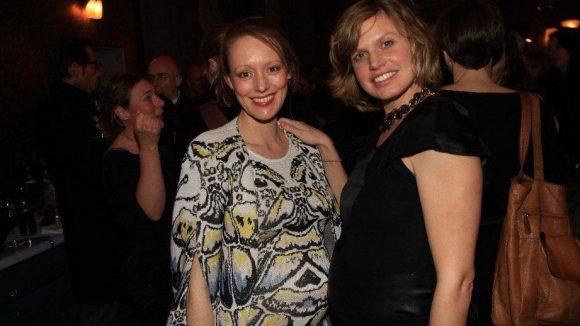 In anderen Umständen: Schauspielerin Lavinia Wilson (l.) und Regisseurin Hanna Doose.