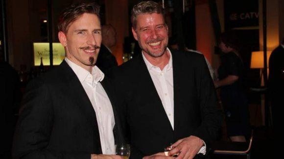 Tamas Tagscherer und Lutz Herrmann von der Firma F.J. Schwarzlose.