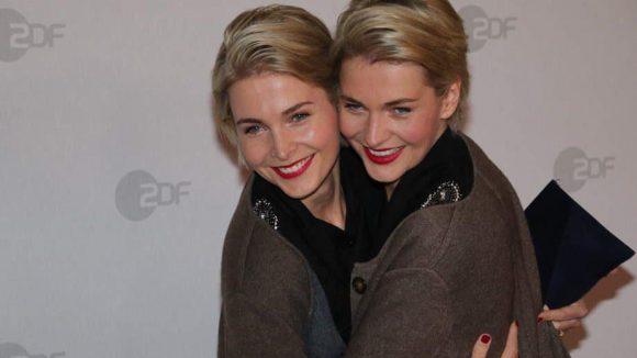 Und zum Schluss noch was Süßes: die Meise-Zwillinge Julia und Nina. Hauptberuf: Model - also beide.
