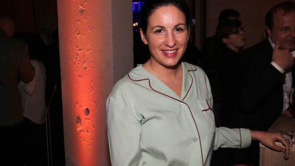 Die Filmproduzentin und Drehbuchautorin Minu Barati war auch vor Ort, allerdings ohne ihren Gatten Joschka Fischer.