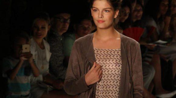 ... Topmodel-Gewinnerin Vanessa Fuchs ...