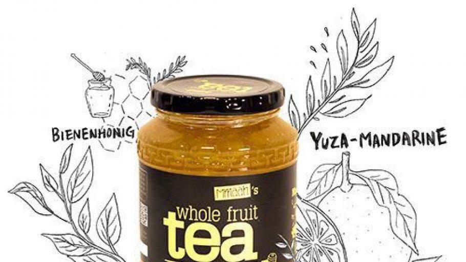 Nein, nicht Honig oder Marmelade stecken in diesem Glas - sondern gesunder Tee!
