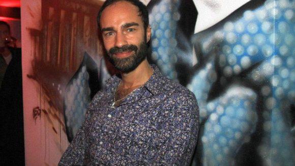 Modedesigner Ivan Strano.