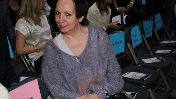 Ebenfalls in der Jury: Modedesignerin Claudia Skoda.