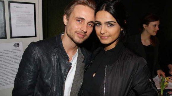 """... Schauspieler Constantin von Jascheroff (""""Der Staatsanwalt"""") kam mit Modedesignerin Haleh Esbak (mint&berry) ..."""