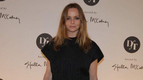 Kam in Schwarz: die beliebte Modedesignerin Stella McCartney.