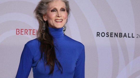 Mit 68 Jahren eines der ältesten und international gefragtesten Models: Eveline Hall.
