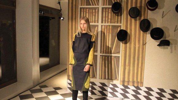 Rike Feuerstein präsentierte ihre neuesten Entwürfe ...