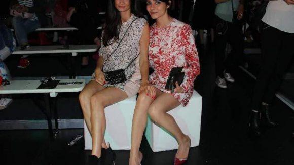 """Haben nicht die einfachsten Namen: Model Shermine Shahrivar (l.) und Schauspielerin Pegah Ferydoni (""""Türkisch für Anfänger"""")."""