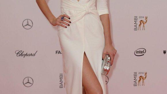 """Schön anzusehen: das international erfolgreiche Model Toni Garrn (""""Victoria's Secret""""-Engel) aus Hamburg - sie ist übrigens die aktuelle Freundin von Hollywood-Star Leonardo DiCaprio."""