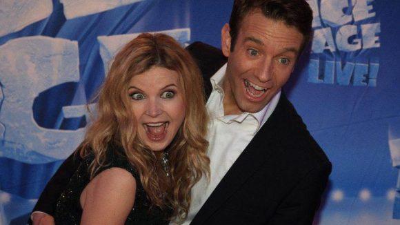 Den meisten Spaß hatten aber wohl Eva und Peter Imhof ...