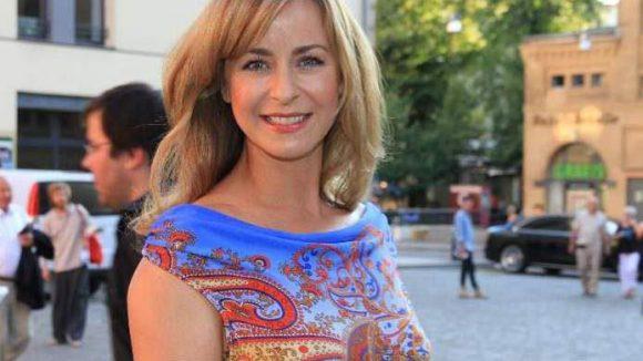 Moderatorin Bettina Cramer kam auch in die Kulturbrauerei.
