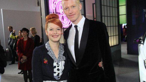 Zu den Gästen zählten Moderatorin Enie van de Meiklokjes und ihr Freund Tobias Stärbo.