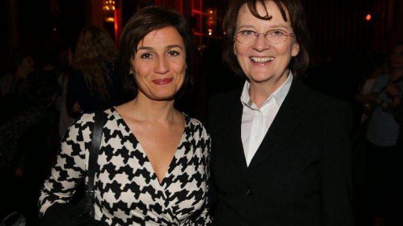 Und auch Moderatorin Sandra Maischberger (l.) und rbb-Intendantin Dagmar Reim schauten vorbei.