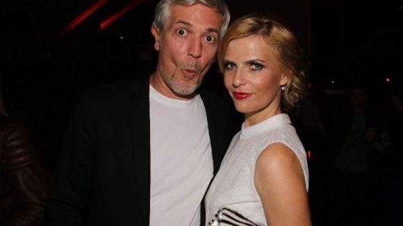 Moderatorin Tanja Bülter brachte ihren gut gelaunten Mann Nenad Drobnjak mit.