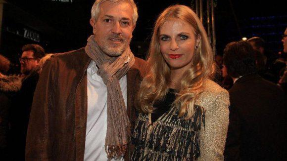 Moderatorin Tanja Bülter schaute mit ihrem Mann Nenad Drobnjak vorbei.