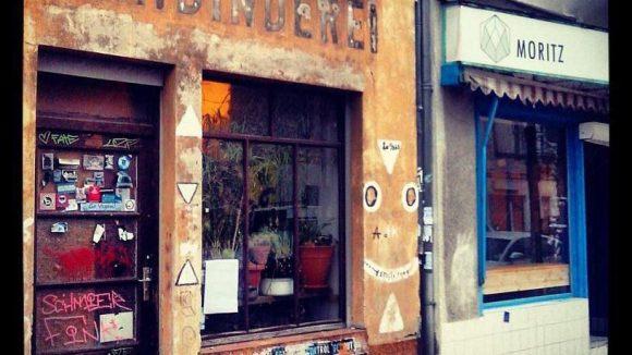 Die neue Bar und ihre Nachbarschaft.