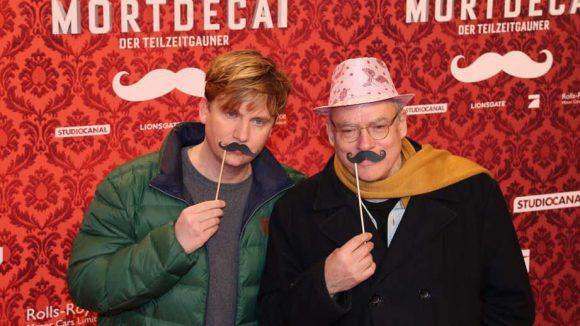 Auch Depp-Fans: Regisseur Rosa von Praunheim (r.) und Freund Oliver Sechting.