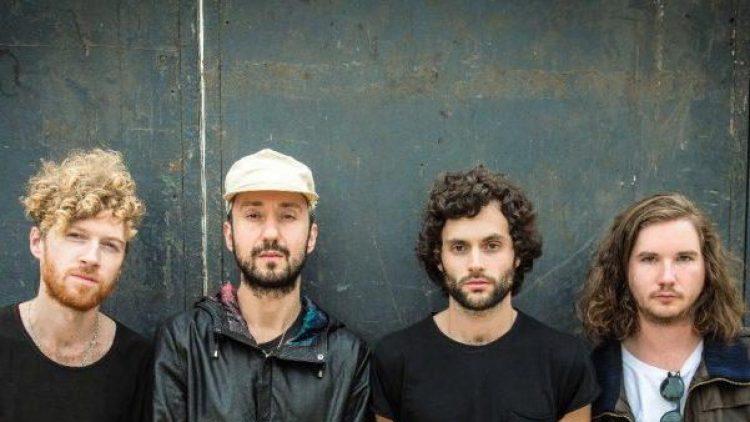 Vier New Yorker in Berlin: Mothxr spielen heute Abend im Postbahnhof Club.