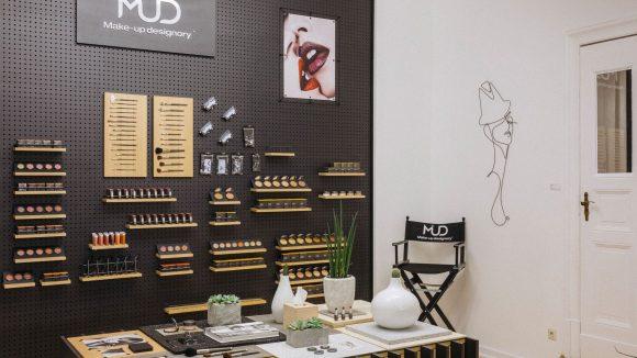 Nicht nur für Profis: Im neuen MUD-Studio findet jeder das richtige Produkt um die äußere Schönheit zu unterstreichen.