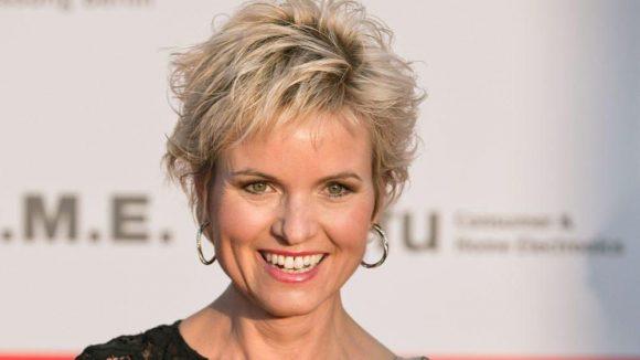 """n-tv-Moderatorin Carola Ferstl lebt mit ihrem Mann und ihren drei Kindern in Schmargendorf. Sie findet: """"Das wäre ein super Zeichen für die Stadt, Olympia hier auch in Berlin zu haben."""""""