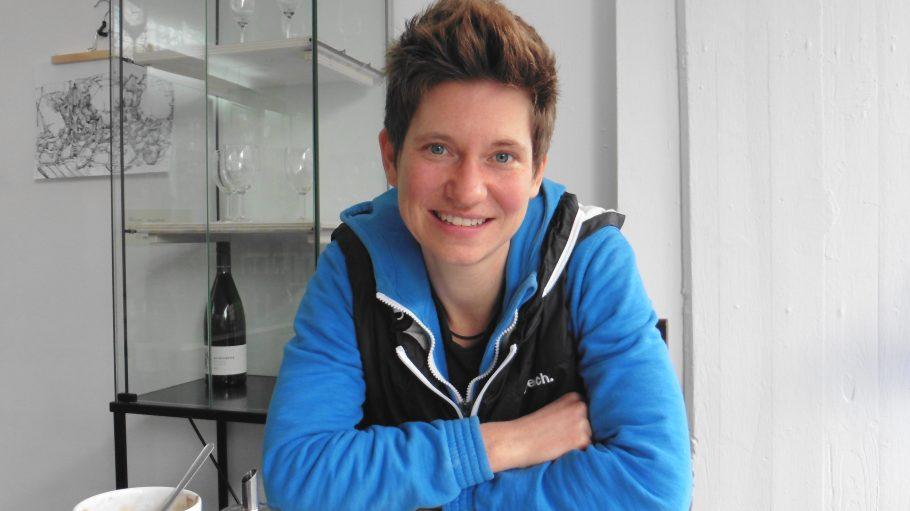 Rian Simmet ist die neue Nachbarschaftsbeauftragte vom Mehringplatz.