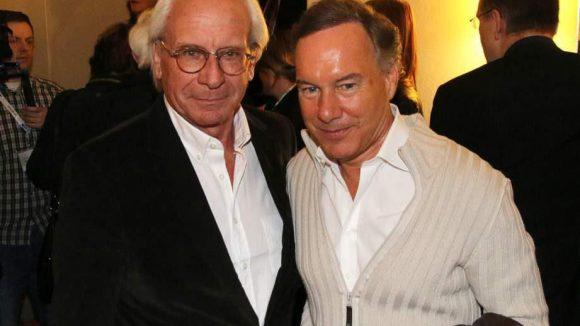... UFA-Chef Wolf Bauer (l.) und Produzent Nico Hofmann ...