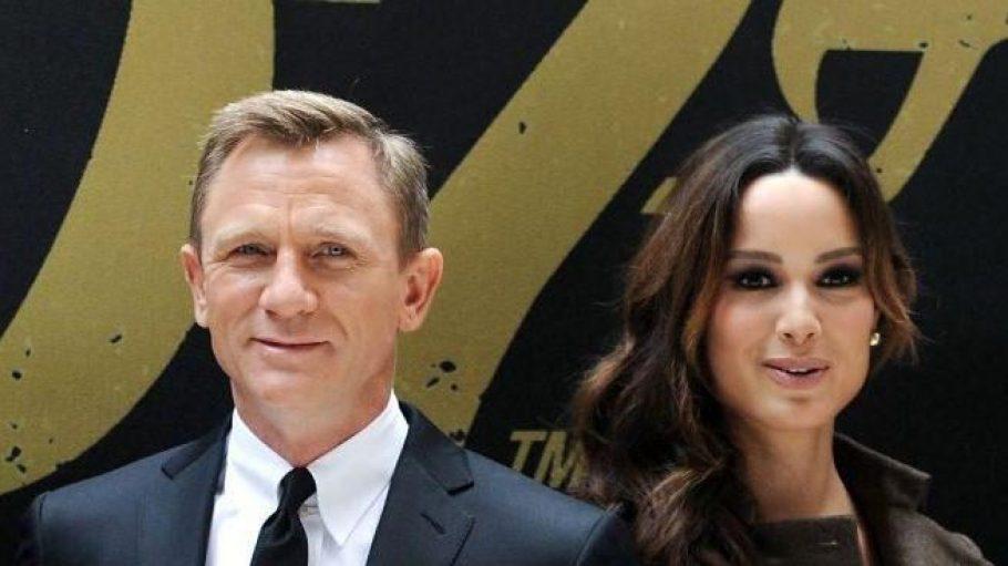 """Die Hauptdarsteller Daniel Craig und Bérénice Marlohe bei einem Foto-Termin für """"Skyfall"""" in New York."""