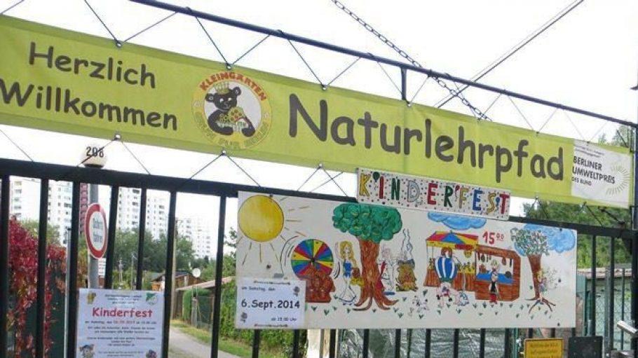 In dieser Kleingartenanlage ist jeder Besucher herzlich willkommen. Wir haben den Naturlehrpfad der Kolonie Freiheit besucht.