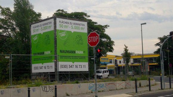 Statt Gewerbegebiet Naumannpark.