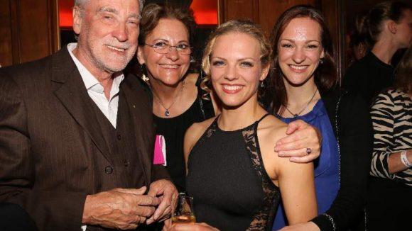 """Spielt die """"Penny"""": Marie-Luisa Kaster (2.v.r.) mit ihrer Familie."""