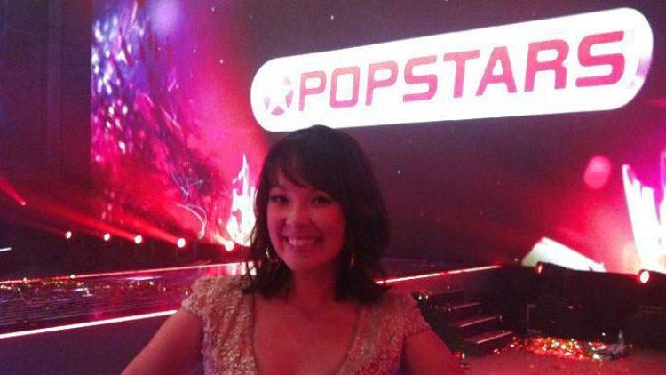 """Popstars""-Moderatorin Nela Panghy-Lee nach der Show."