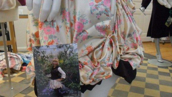 ... oder raffinierte Röcke - von den Ergebissen des Workshops können sich Besucher in der NEMONA-Zentrale informieren.