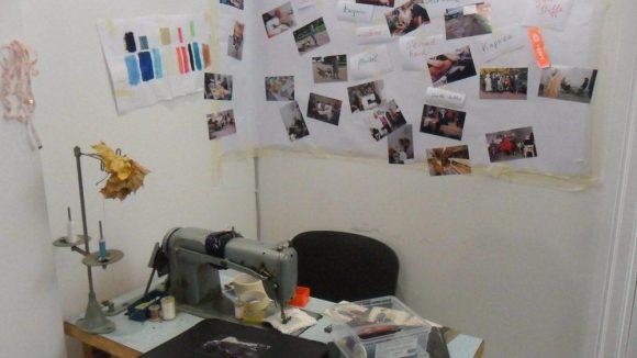 Auch der Herstellungsprozess wurde dokumentiert.