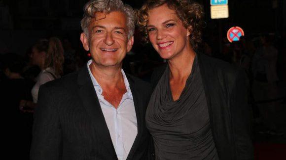 """Ex-""""Tatort""""-Kommissar Dominic Raacke mit seiner noch recht neuen Freundin Alexandra Rohleder."""