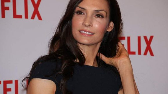 """... die aus den Niederlanden stammende Schauspielerin Famke Janssen gehören zum Team der Netflix-Serie """"Hemlock Grove""""."""