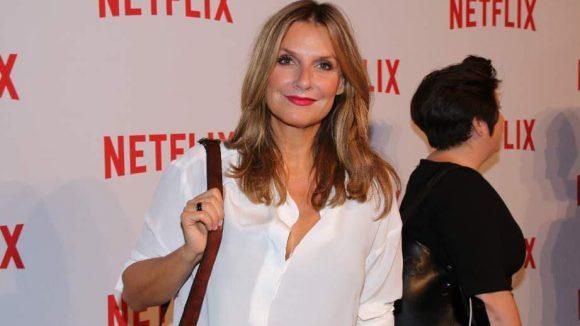 Moderatorin, Sängerin und Autorin Kim Fisher gehörte ebenfalls zu den Netflix-Partygästen.