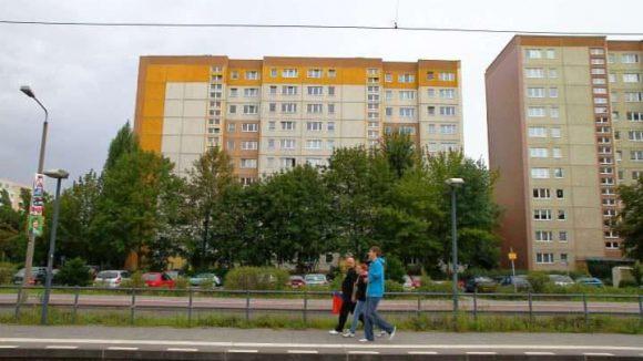 Plattenbauten in Marzahn-Hellersdorf.