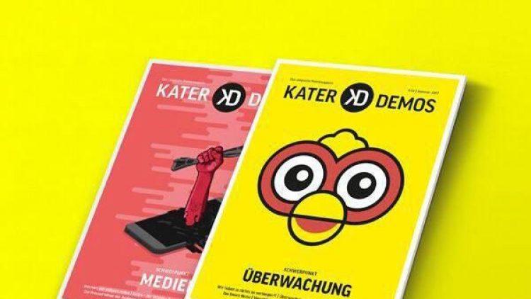 Wie verschlüssel ich Mails und Chats? Und warum ist das überhaupt wichtig? Das vierte Kater Demos-Heft beschäftigt sich mit dem Thema Überwachung.