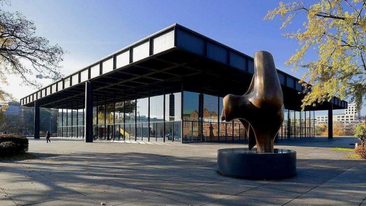 Die neue Nationalgalerie ist das Museum für die Kunst des 20.Jahrhunderts der Nationalgalerie Berlin.