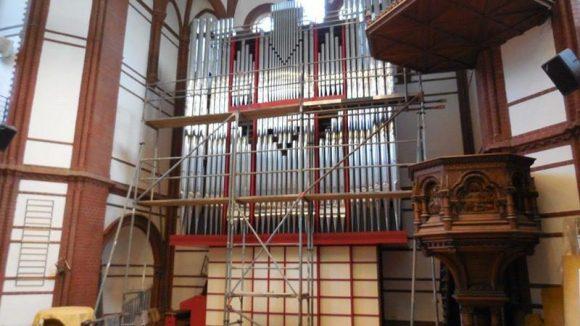 Die Luthergemeinde in der Spandauer Neustadt darf sich über eine neue Orgel freuen.
