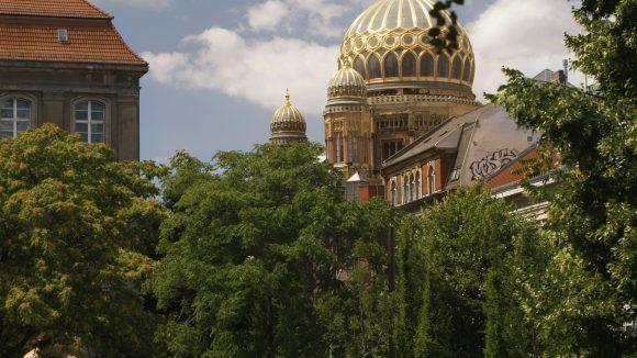 Es gibt eine neue Hausherrin in der Synagoge am Monbijoupark.