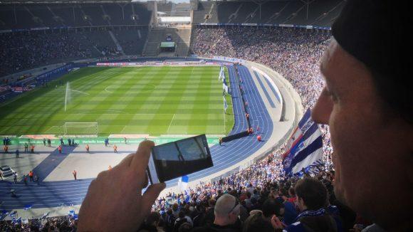 Neuer Anschluss im Olympiastadion Berlin: Der neue Chef übernimmt die Geschäfte.