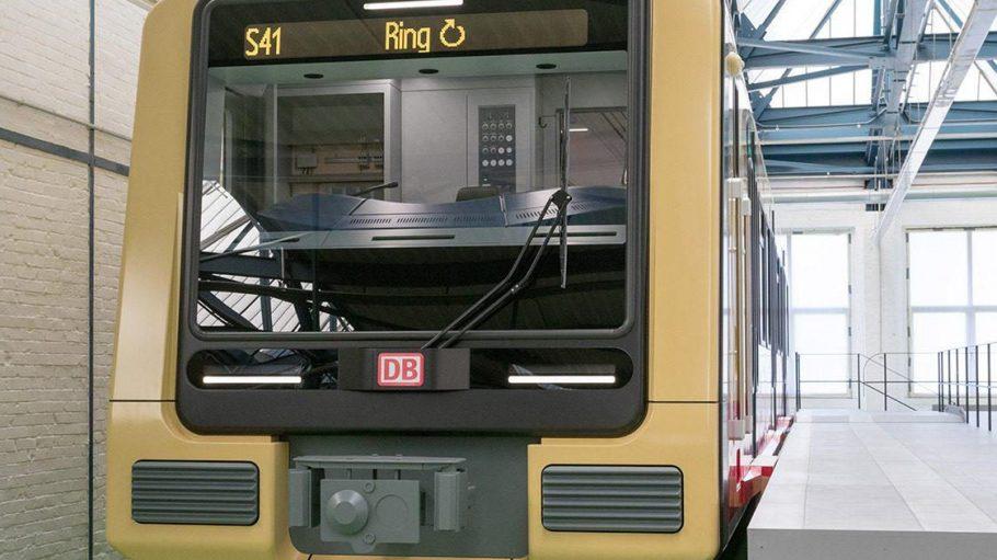Nach dem Facelifting: So soll die neue S-Bahn von vorn aussehen.
